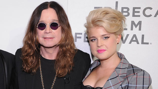 """PHOTO: Ozzy Osbourne and Kelly Osbourne attend the premiere of """"God Bless Ozzy Osbourne"""" during the 10th annual Tribeca Film Festival at BMCC Tribeca, April 24, 2011 in New York City."""