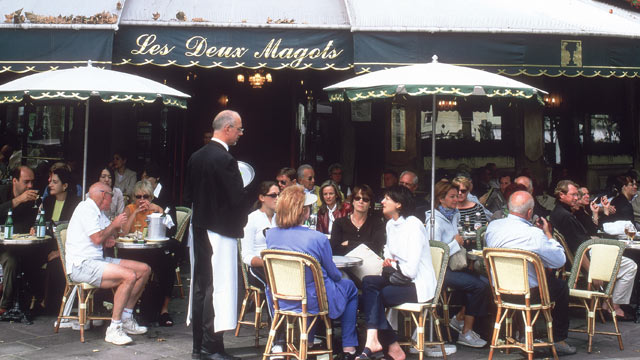 PHOTO: Les Deux Magots cafe in Paris, France, is seen in this undated photo.