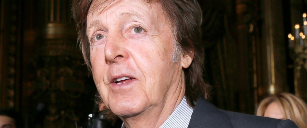 PHOTO Former Beatle And Recording Artist Sir Paul McCartney Attends A Fashion Show On March