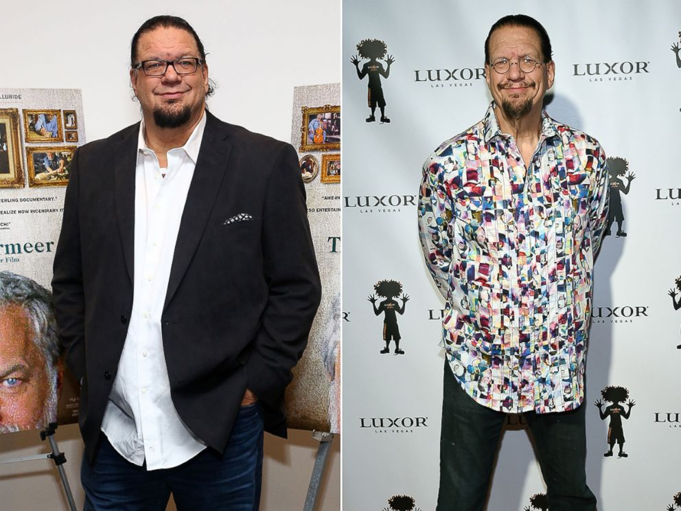 PHOTO: Penn Jillette attends the Tims Vermeer special screening at Museum of Modern Art on Jan. 28, 2014 in New York. Penn Jillette attends the 10th anniversary of Carrot Tops residency at the Luxor Hotel and Casino on Dec. 6, 2015 in Las Vegas.
