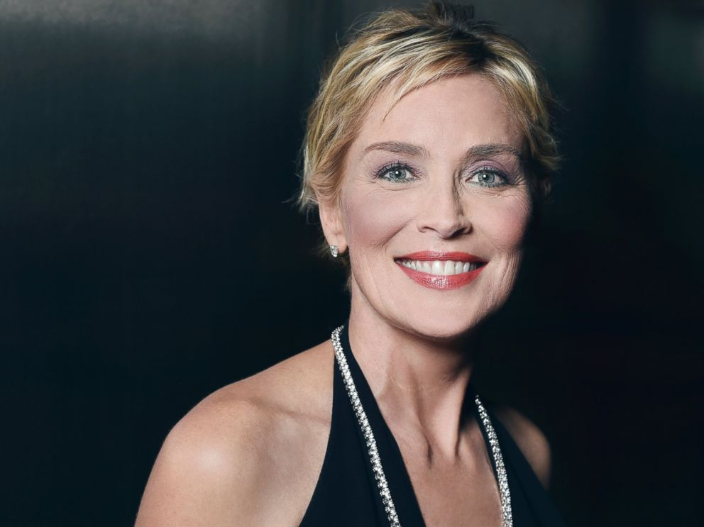 PHOTO: Sharon Stone poses for a portrait at the amfAR LA Inspiration Gala on Oct. 29, 2014 in Los Angeles.