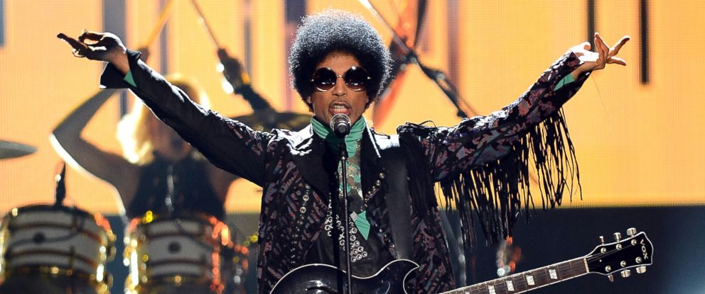 PHOTO: Musician Prince performs onstage during the 2013 Billboard Music Awards at the MGM Grand Garden Arena on May 19, 2013 in Las Vegas.