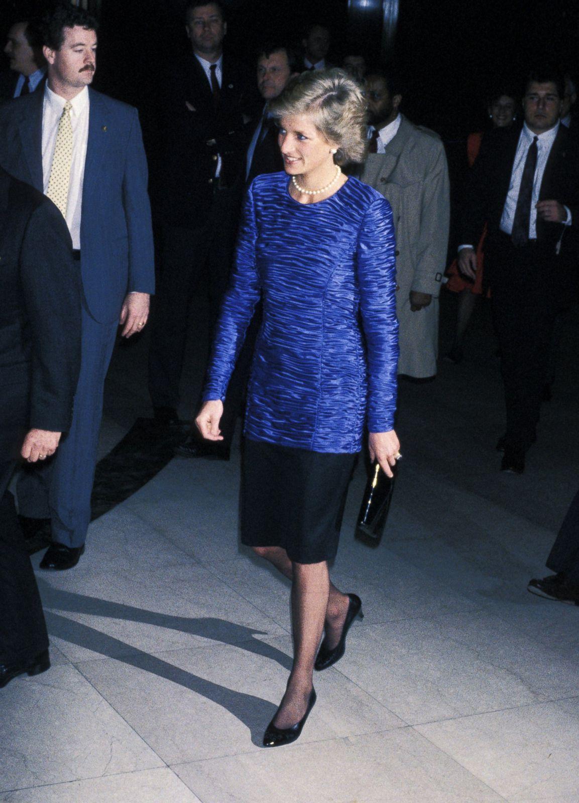 Inside Princess Diana S Visits To New York City Photos