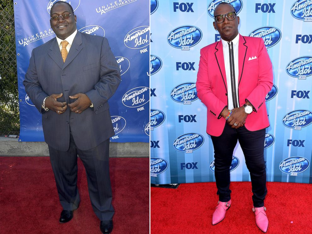 PHOTO: From left, Randy Jackson in 2003 and 2014.