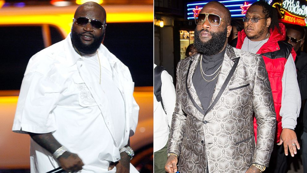 Rick Ross Performs Onstage During The 21st Annual Soul Train Music Awards March 10