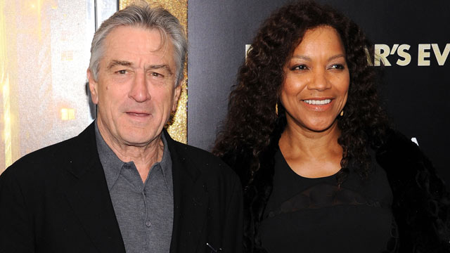 "PHOTO: Robert De Niro and Grace Hightower attend the ""New Year's Eve"" premiere at the Ziegfeld Theatre on Dec. 7, 2011 in New York City."