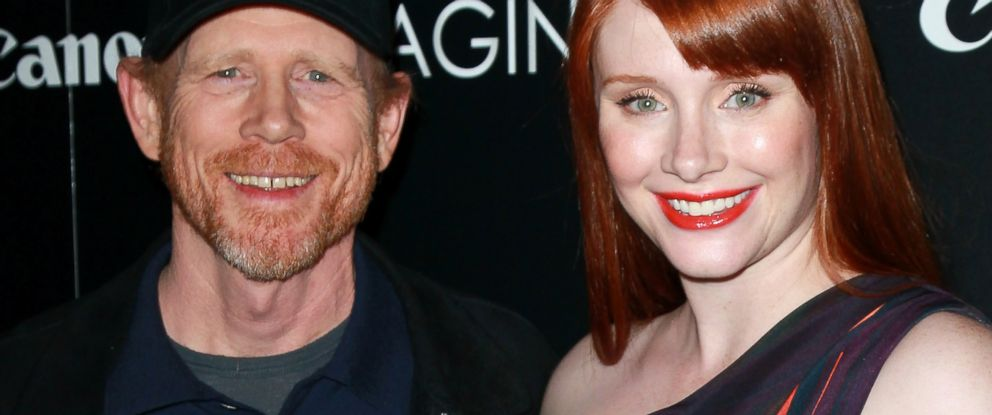 PHOTO: Ron Howard and Bryce Dallas Howard attend a film screening the Ray Kurtzman Theater at CAA on Nov. 21, 2011 in Los Angeles, Calif.