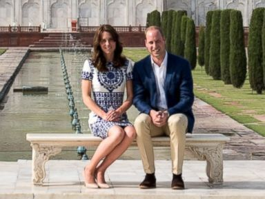 Prince William and Duchess Kate Visit Taj Mahal Before Heading Home