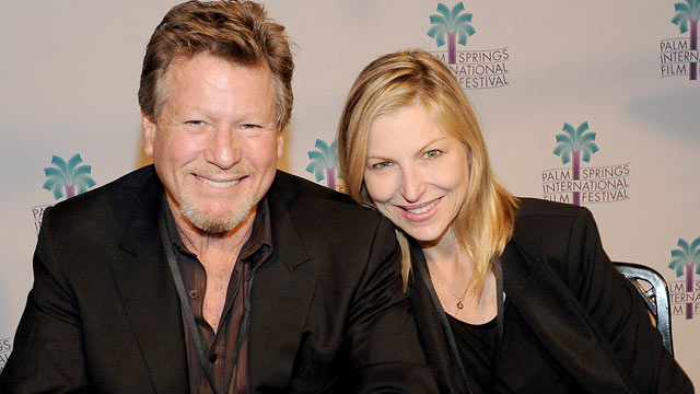 """PHOTO: Ryan O'Neal and Tatum O'Neal attend the """"Paper Moon"""" Screening at the Camelot Theatre, Jan. 16, 2011 in Palm Springs, California."""