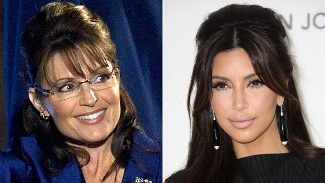 PHOTO: Sarah Palin and Kim Kardashian