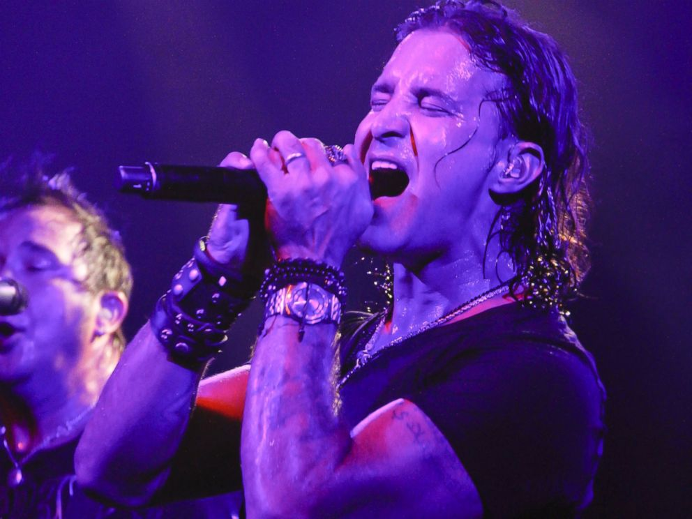 PHOTO: Scott Stapp performs at Irving Plaza on April 2, 2014 in New York.