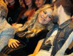 PHOTO: Columbian singer Shakira and Barcelona footballer Gerard Pique attend a press conference for her father William Mebarak Chadid latest book presentation Al Viento y Al Azar at Casa del Llibre Bookstore, Jan. 14, 2013 in Barcelona, Spain.