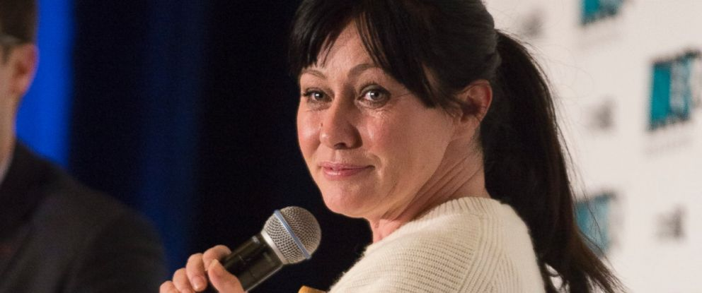 PHOTO: Actress Shannen Doherty speaks at the Fan Expo Vancouver 2015 at the Vancouver Convention Centre on April 3, 2015 in Vancouver, Canada.