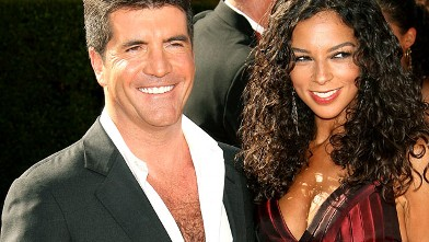 PHOTO: Simon Cowell and Terri Seymour attend the 58th Annual Primetime Emmy Awards, in Los Angeles, Calif.