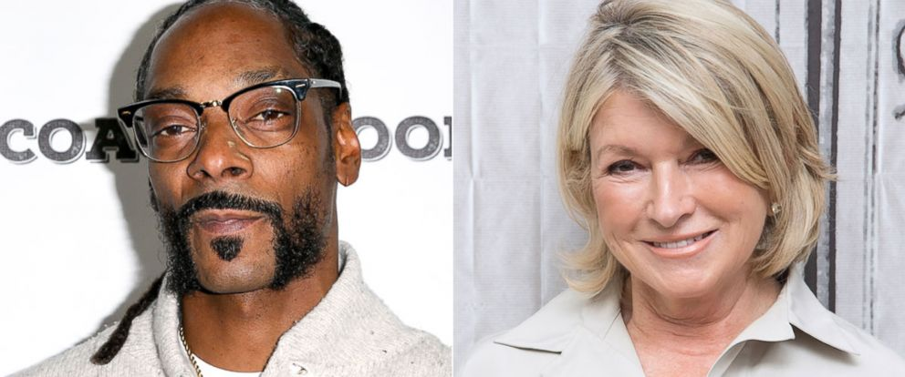 PHOTO: Celebrities Snoop Dogg and Martha Stewart are making a special announcement together.