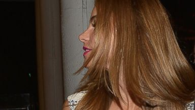 PHOTO: Sofia Vergara and Joe Manganiello are sighted Makoto at Bal Harbour shops on July 26, 2014 in Miami, Florida.