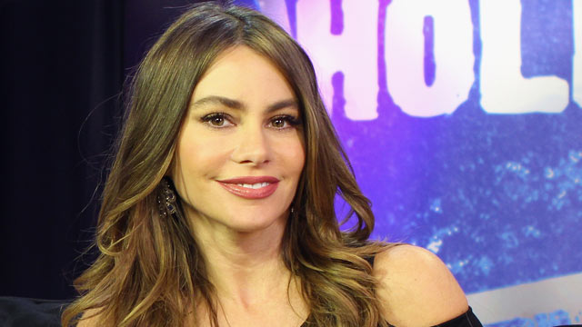 PHOTO: Actress Sofia Vergara visits the Young Hollywood Studio on Feb. 5, 2013, in Los Angeles.