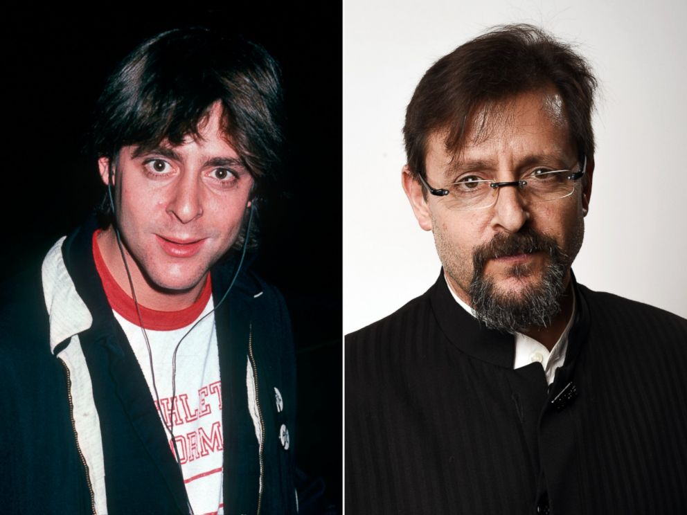 PHOTO: Judd Nelson is seen at the Academy Theater, Los Angeles, Oct. 30, 1985 and in Beverly Hills, Calif. on Feb. 22, 2015.