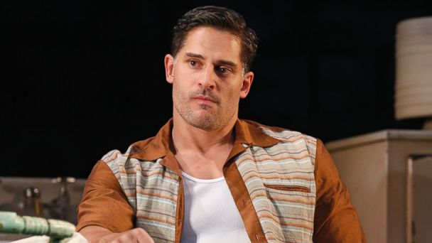 "PHOTO: Joe Manganiello appears in a production of ""A Streetcar Named Desire"" at the Yale Repertory Theatre in 2013."