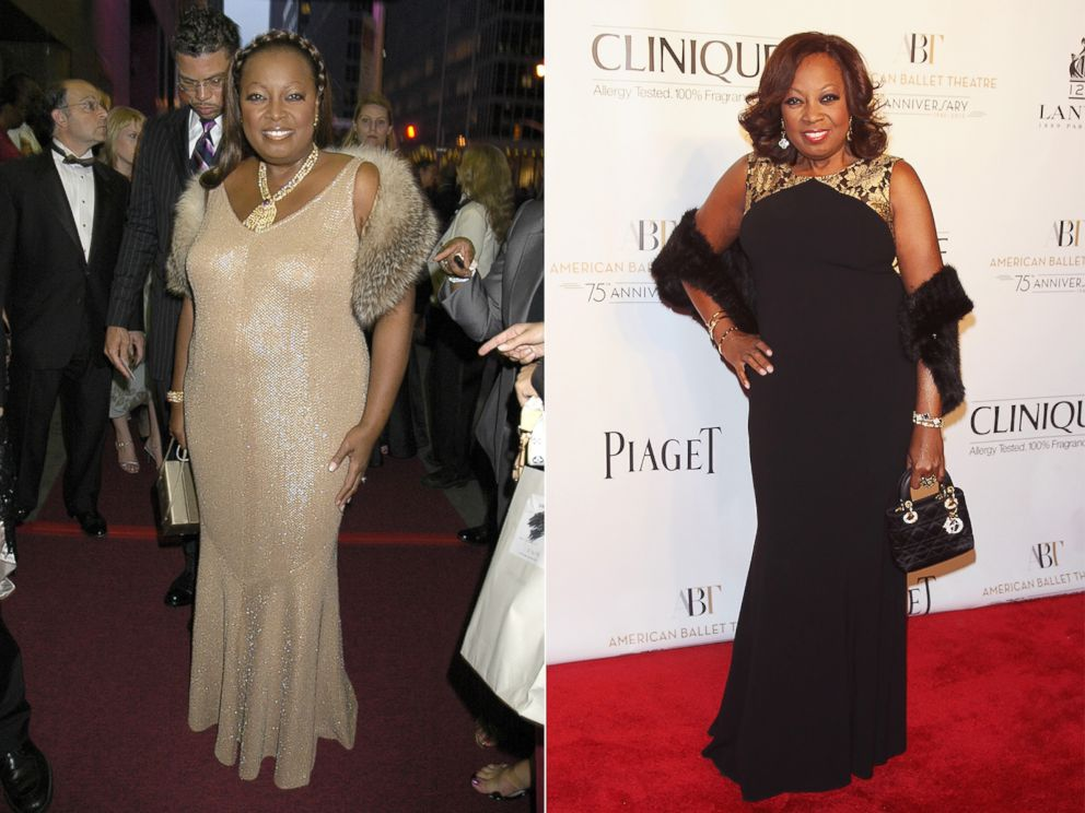 PHOTO: From left, Star Jones in 2004 and 2014.