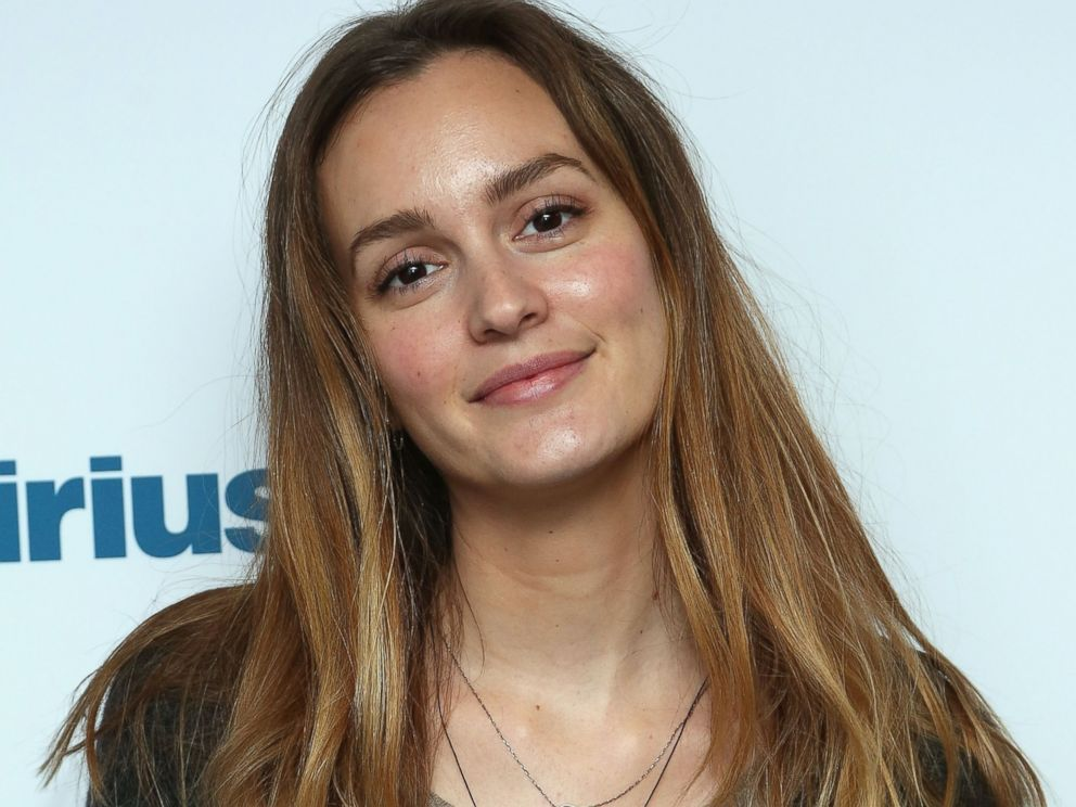 PHOTO: Leighton Meester visits the SiriusXM Studios on Dec. 5, 2014 in New York City.