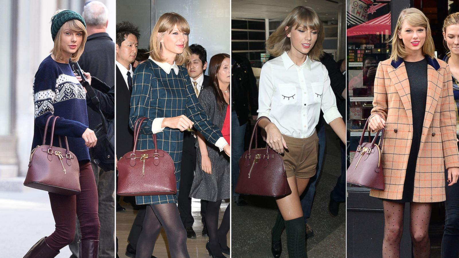 Taylor Swift Spotted Multiple Times With A 50 Handbag Abc News