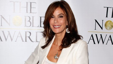 "PHOTO: Teri Hatcher arrives at the first annual ""Noble Awards"" at The Beverly Hilton Hotel on October 18, 2009 in Beverly Hills, California."