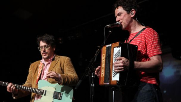 PHOTO: John Flansburgh, left, and John Linnell of They Might Be Giants perform during a concert on Nov. 23, 2013, in Berlin, Germany.