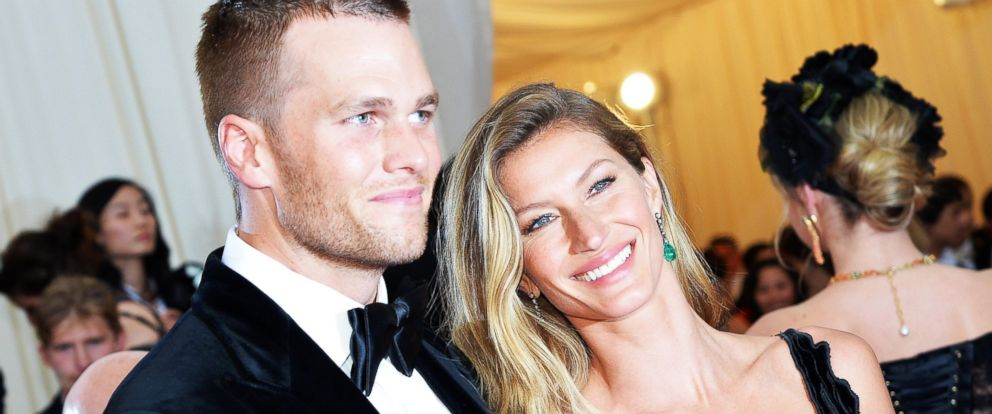 PHOTO: Tom Brady and Gisele Bundchen attend an event at the Metropolitan Museum of Art on May 5, 2014 in New York.