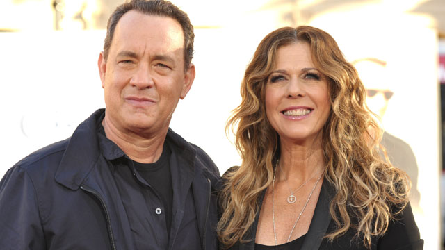 """PHOTO: Actors Tom Hanks and Rita Wilson attend the """"Larry Crowne"""" Los Anglees Premiere at Grauman's Chinese Theatre, June 27, 2011 in Hollywood, California."""