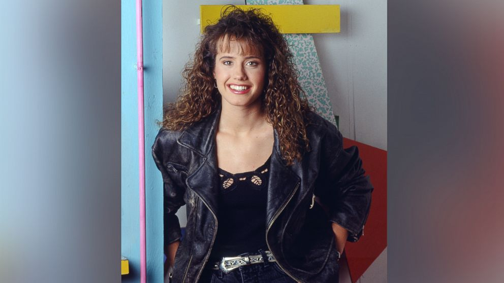 "Leanna Creel as Tori Scott on ""Saved By The Bell""."