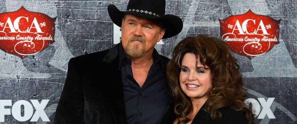 PHOTO: Singer Trace Adkins and his wife Rhonda Adkins arrive at the 2012 American Country Awards at the Mandalay Bay Events Center on Dec. 10, 2012 in Las Vegas.