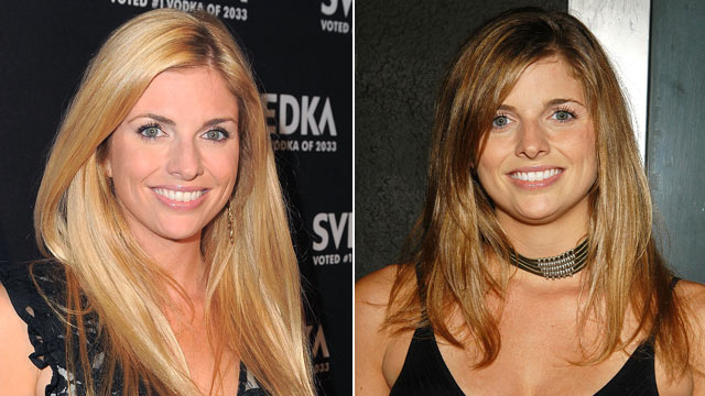 PHOTO: Trishelle Cannatella is seen in 2003, left, and gain in 2011.
