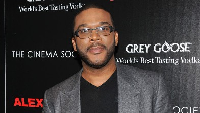 """PHOTO: Tyler Perry attends The Cinema Society & Grey Goose screening of """"Alex Cross,"""" Oct. 18, 2012 in New York City."""