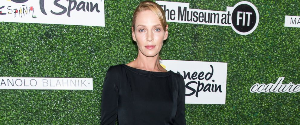 PHOTO: Uma Thurman attends a benefit on Sept. 9, 2015 in New York.