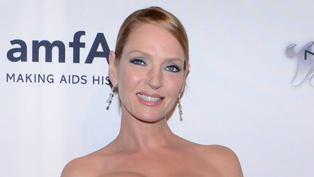 PHOTO: Uma Thurman attends the 4th Annual amfAR Inspiration Gala New York at The Plaza Hotel on June 13, 2013 in New York City.