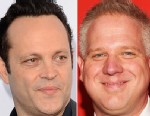 """PHOTO: Vince Vaughn, left, arrives at the premiere of """"The Watch"""" at Graumans Chinese Theater, July 23, 2012 in Hollywood, Calif. Right, Glenn Beck attends Times 100 Most Influential People in the World Gala at the Frederick P. Rose Hall at Jazz at Linc"""