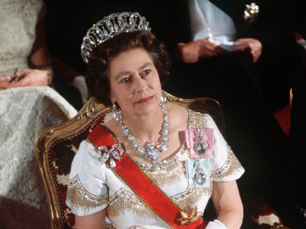 PHOTO: Queen Elizabeth II during an official tour of Germany 22 May 1978 .