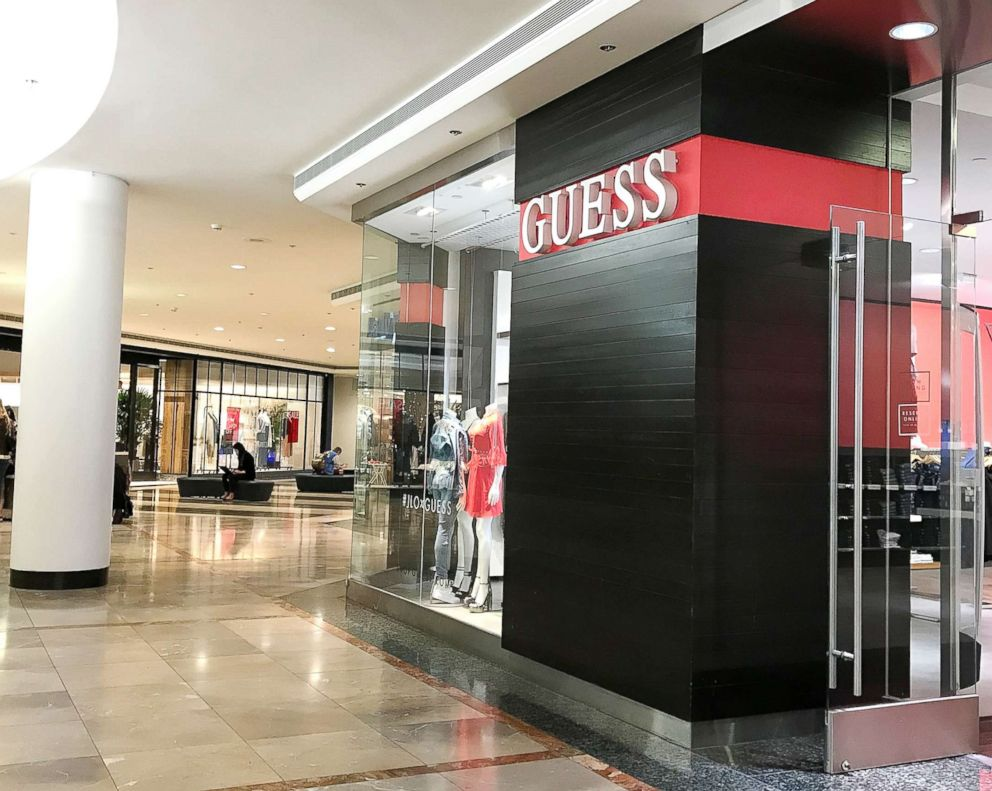 PHOTO: A Guess store is pictured on Feb. 1, 2018, in San Francisco.