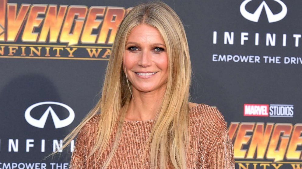 Gwyneth Paltrow attends the premiere of Disney and Marvel's 'Avengers: Infinity War' on April 23, 2018 in Los Angeles.