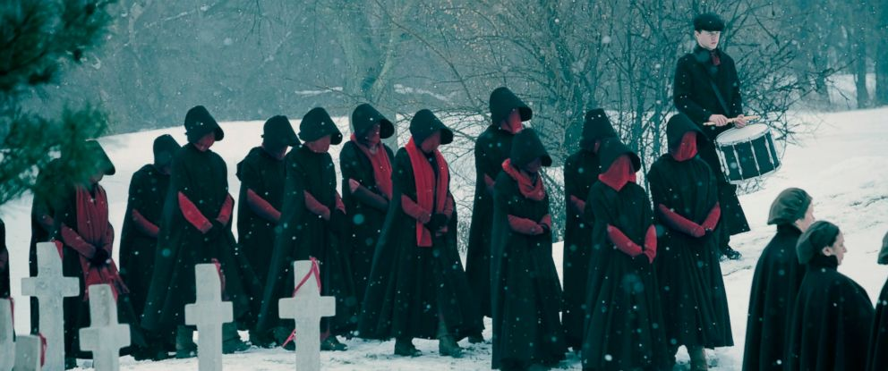 "PHOTO: Scene from ""The Handmaids Tale."""