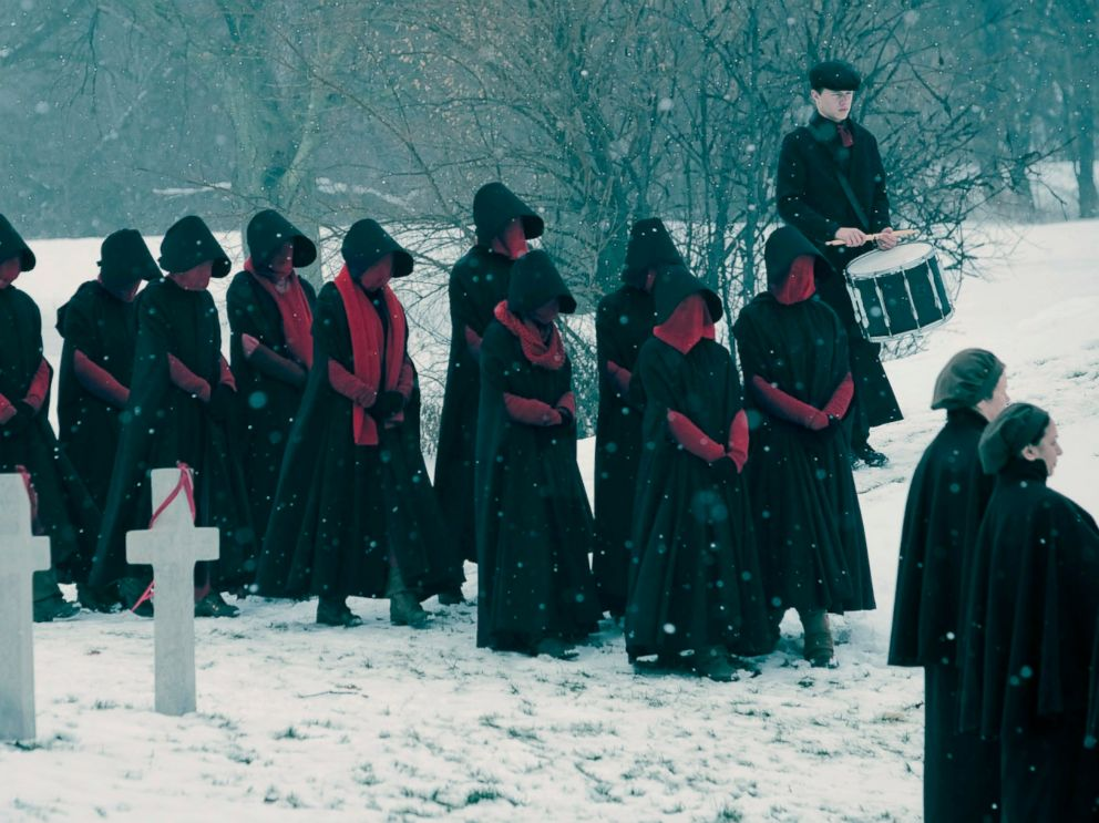 PHOTO: Scene from The Handmaids Tale.