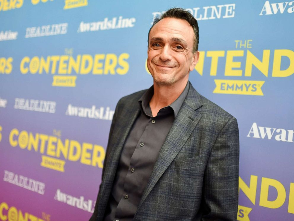 PHOTO: Hank Azaria in the green room at the Contenders Emmys presented by Deadline Hollywood, in Los Angeles, Aprl 15, 2018.