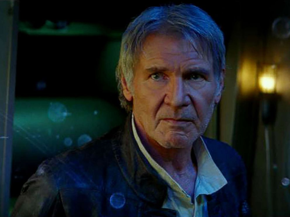 PHOTO: Harrison Ford appears in a scene from Star Wars: Episode VII - The Force Awakens.