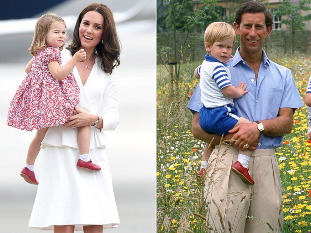 Princess Charlotte Steps Out In Prince Harry S Red Shoes