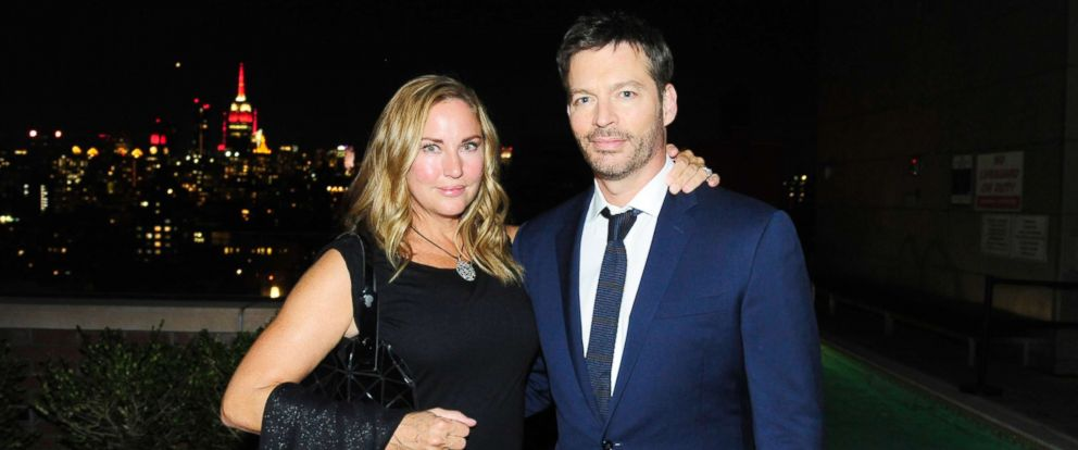 "PHOTO: Jill Goodacre and Harry Connick Jr. attend NBC & Vanity Fair host a party for ""Will & Grace"" at Mr. Purple at the Hotel Indigo LES, Sept. 23, 2017, in New York City."