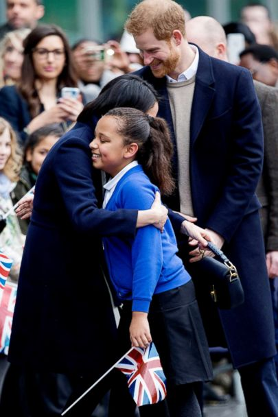 prince harry meghan markle encourage young students on international women s day gma prince harry meghan markle encourage