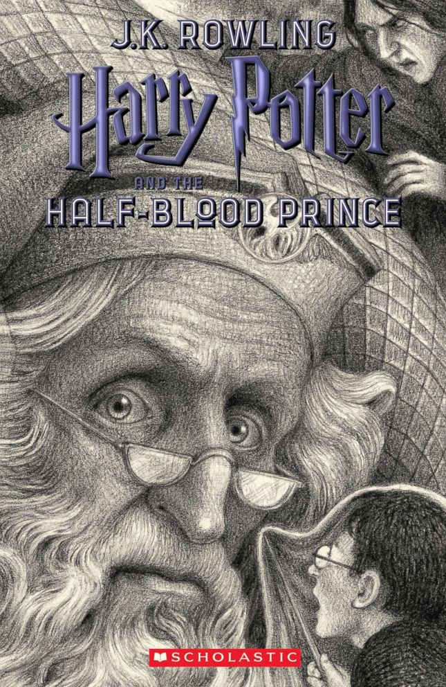 PHOTO: Scholastics new book cover for Harry Potter and the Half-Blood Prince, featuring art by Brian Selznick, is pictured here.