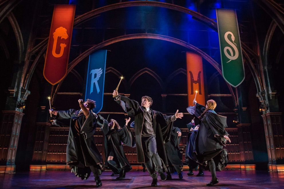 PHOTO: Actors perform in a scene from the production of Harry Potter and the Cursed Child, in New York.