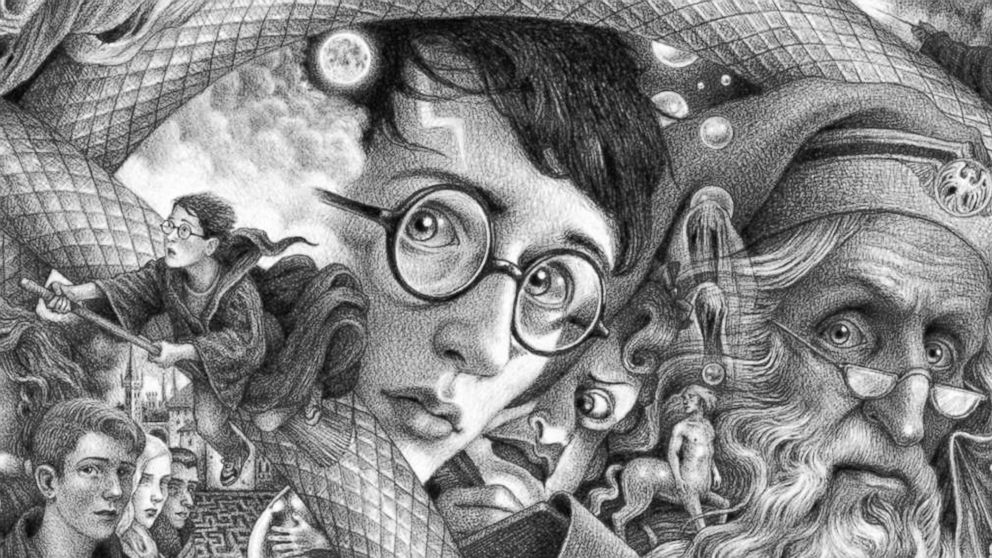 Mesmerizing new 'Harry Potter' covers out today to mark the series' 20th anniversary in US
